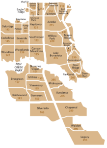South Calgary Quadrant Map